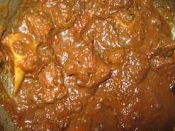 Gestoofde geiten vlees per 200 gram