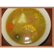 Geiten vlees soep  per 300 ml (sopi kabritu) dp