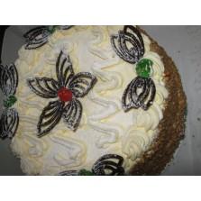 Piña Colada taart Code:110  1/2 liber   22 cm
