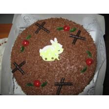 Chocoladetaart Code:117  28 cm  1 liber