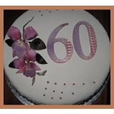 Dadel taart   (bolo di dadel) 1 liber  28 cm