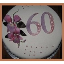 Dadel taart   (bolo di dadel) 1/2 liber  22 cm
