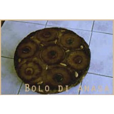 Ananas taart Code:118    22 cm  1/2liber