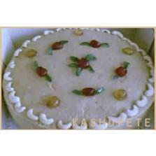 CashewNoten taart Code:114  28 cm   1liber