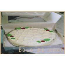 Kokosnoot taart Code:113   1/2 liber      22cm