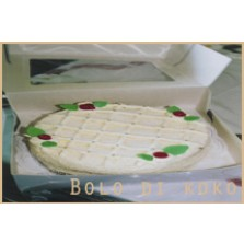 Kokosnoot taart Code:113    28 cm   1 liber